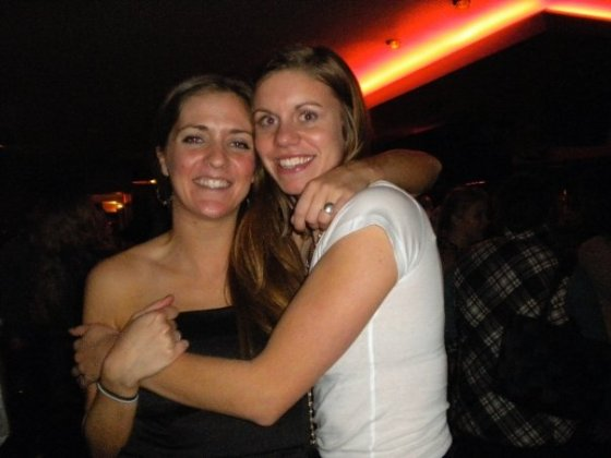 2010: Night out in Boston with one of my bests!