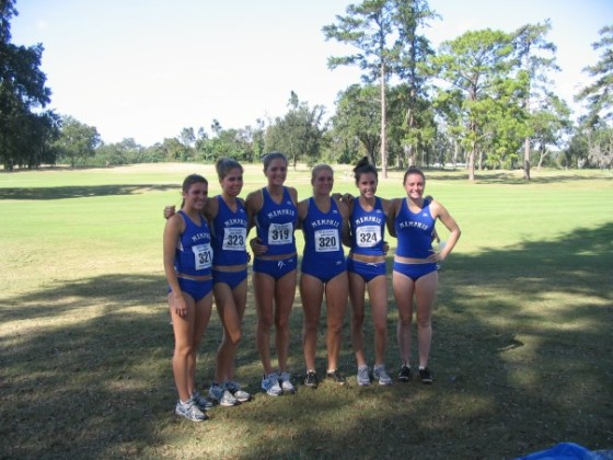 2006: Memphis XC team! I'm the tall giant in the middle. Dreaded bun-huggers