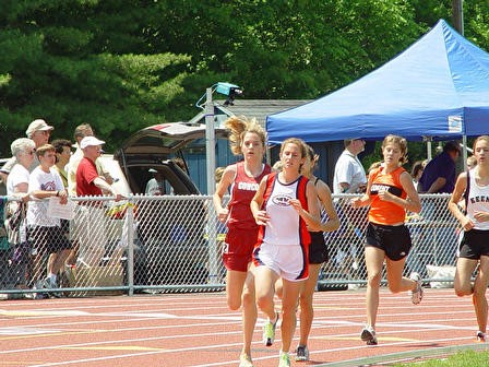 2003: New Hampshire Outdoor Track State Meet - I think I came in 3rd but I can't remember