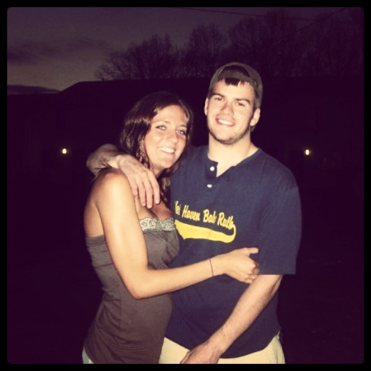 2008: When I met Douglas (in marketing class) and have been smitten ever since!