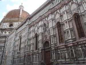 Enormous churches in Florence