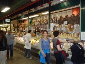 A meat market where Doug and I tried