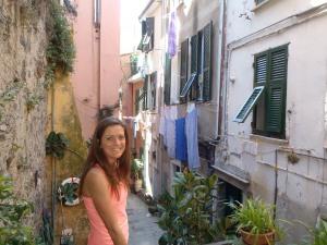 In Corniglia. What a cute town!
