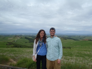 On our organic food & wine tour through Tuscany!